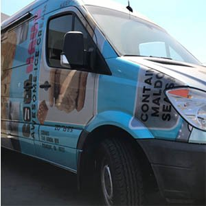 custom food truck builders california
